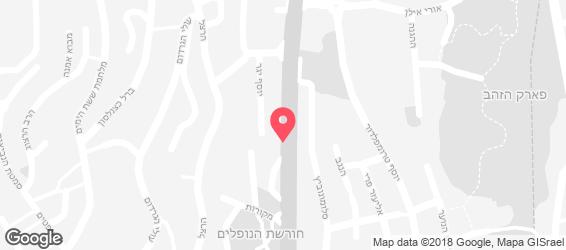 תל אביבה - מפה