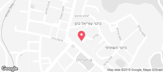 שווארמה הכיכר - מפה