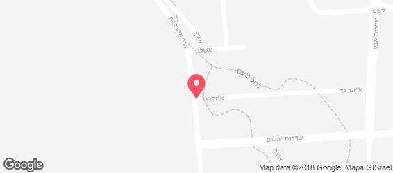 r.m קייטרינג לאירועים - מפה