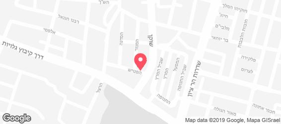 מרכז הסנדוויץ' הטוניסאי - מפה