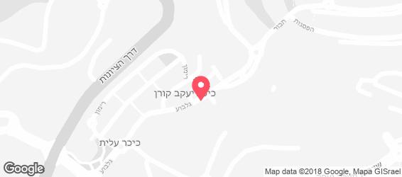 אצה סושי בר נוף הגליל (נצרת עילית) - מפה