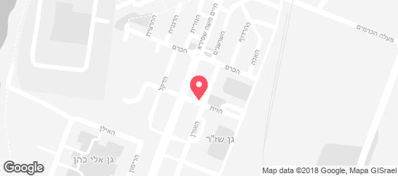 בית הפיצה י - מפה
