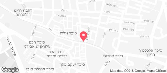 הסנדק - מפה