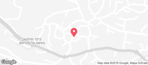 מסעדת אבו ענאן - מפה