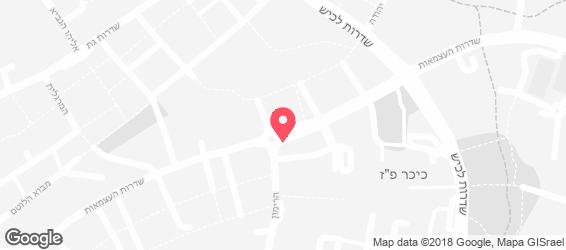 בית הפנקייק - מפה