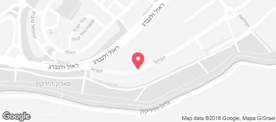 חומוס נרי - מפה