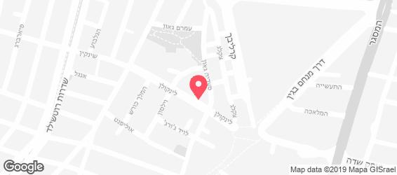 קאב קם תל אביב - מפה