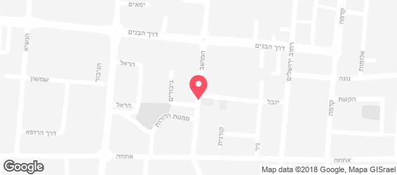 מאפיית הנביאים - מפה