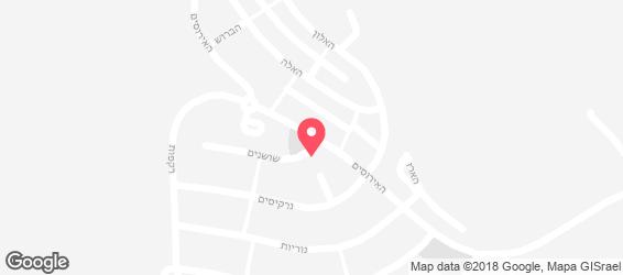פיצה מיכאל אנג'לו אחוזת ברק (עפולה) - מפה
