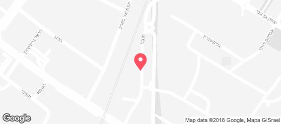 קייטרינג טופז - מפה