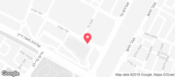 סופרה מסעדה ים תיכונית - מפה