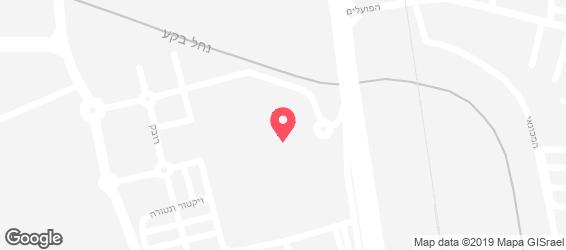קמפאי סטריט ווק - מפה