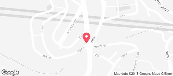 פנדה פלוס - בר נרגילות - מפה
