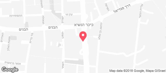 המעורב הירושלמי - מפה