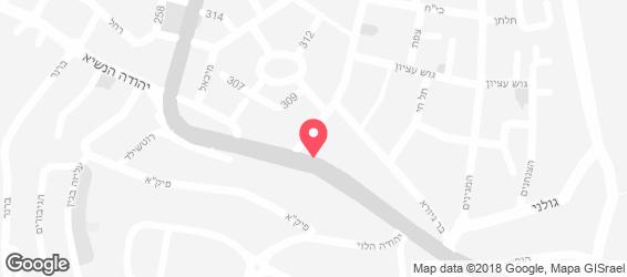 אקסטרה פיצה - מפה