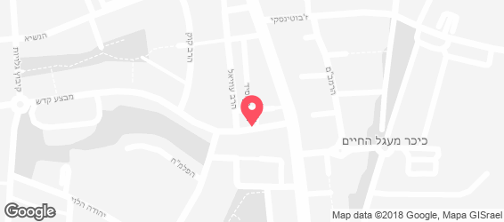 פיצה היימיש - מפה
