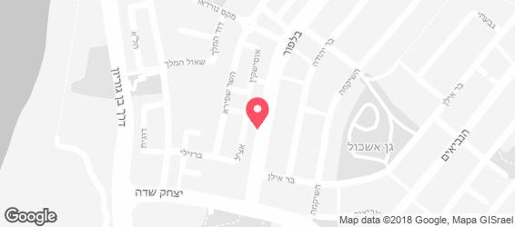 קלוד פיש&צ'יפס - מפה