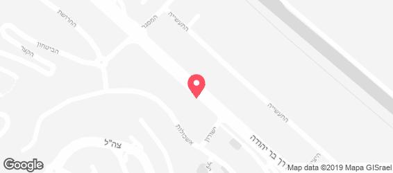 סושי ברייק - מפה