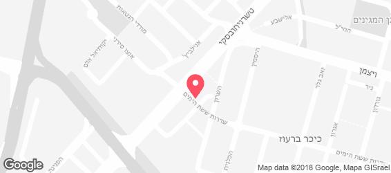 שווארמה נונה - מפה