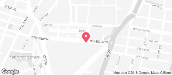 זוזוברה - מפה