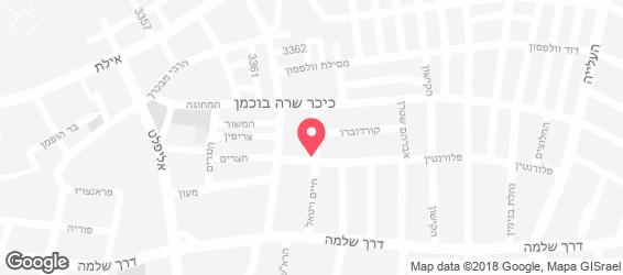 חומוס בית לחם - מפה