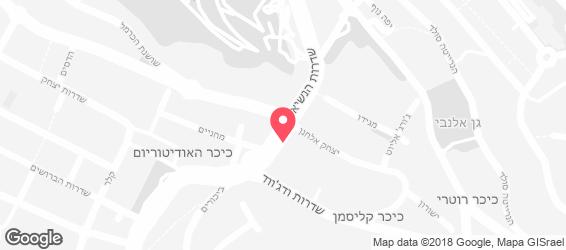 wok street - מפה