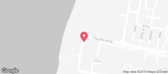הפלאפל התימני - מפה