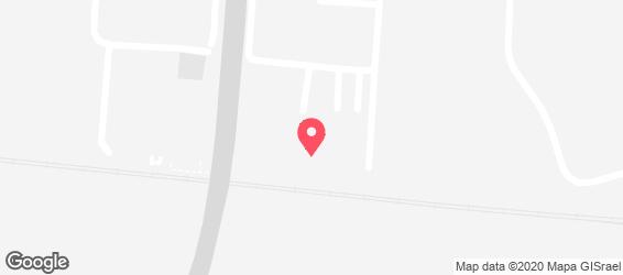 כיופים  - מפה