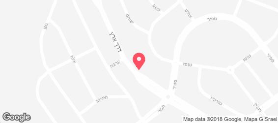 פיצריש - מפה