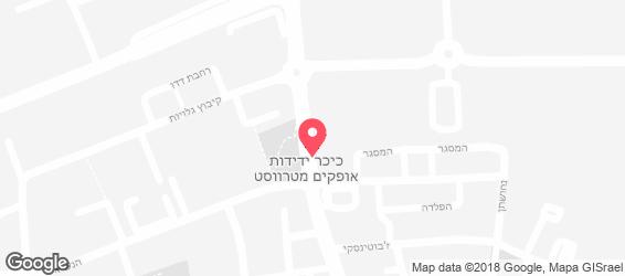 קייטרינג השף - מפה