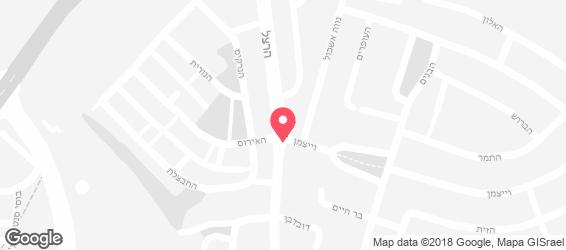 שווארמה בכיכר - מפה