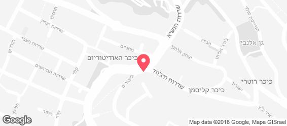 המסילה - בר ישראלי - מפה