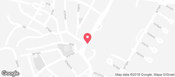 הקוסקוס של גליה תל מונד - מפה