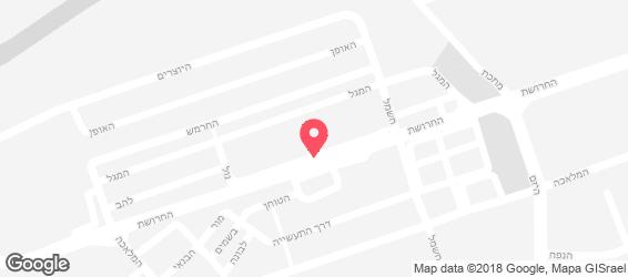 טופ שווארמה - מפה