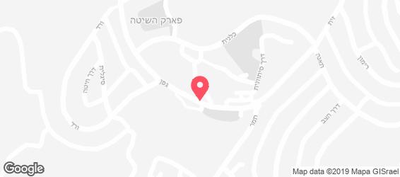 קפה שרי כרמי יוסף - מפה