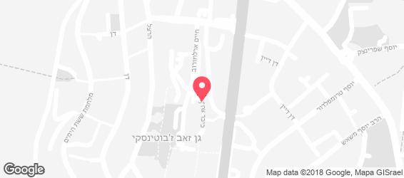 קשיו בר kashyobar - מפה