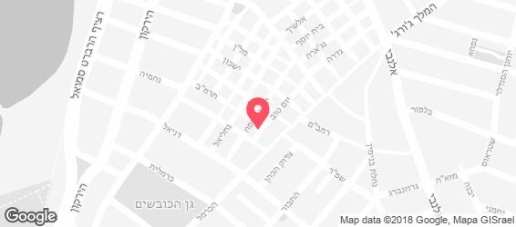 פיש & צ'יפס מרקט - מפה