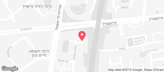 אורי שירותי קייטרינג - מפה