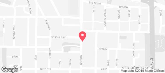 חומוס הנביאים - מפה