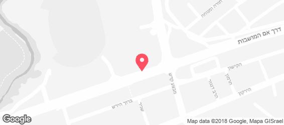 לה פיצרייה - מפה