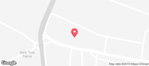 West House - מפה