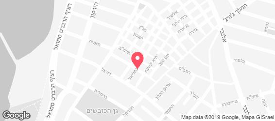 אמירוס מאכלי עדות - מפה