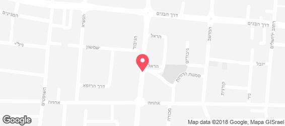 חמסה חומוס - מפה