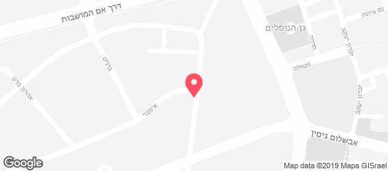 קובנט גרדן - מפה