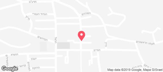 שווארמה שאולי - מפה