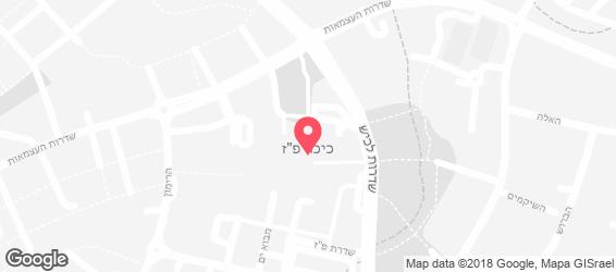 מסעדת השלום - מפה