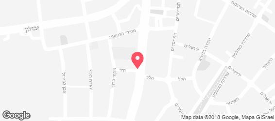 צ'יפס טוסט נקניק - מפה