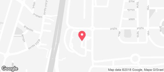 חומוס אסלי דרורים - מפה