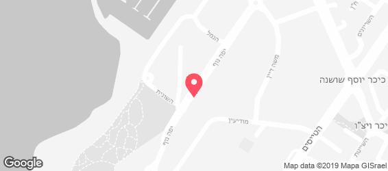 טיבולי TIVOLI - מפה