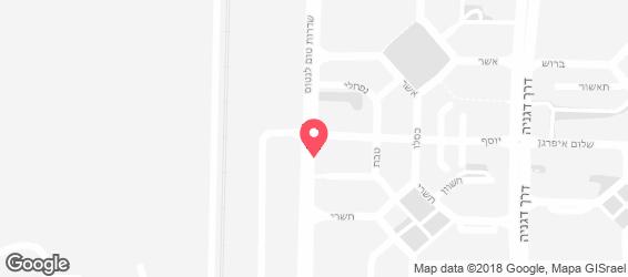 פאפא PAPA - מפה